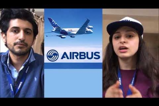 Embedded thumbnail for A message from CPF Airbus interns