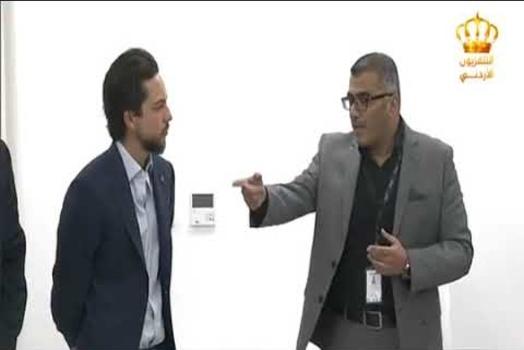 Embedded thumbnail for سمو ولي العهد يطلع على برامج جامعة الحسين التقنية