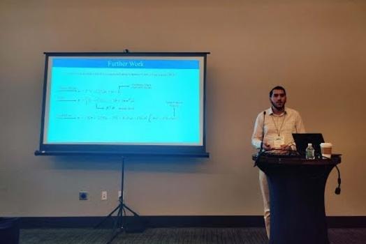 """Embedded thumbnail for أحمد فارس يشارك في مؤتمر """"الديناميكا المدرايّة المتخصص"""""""