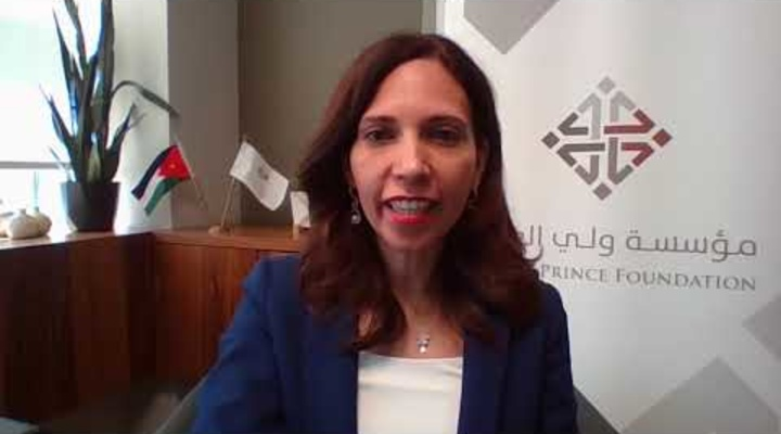"""Embedded thumbnail for كلمة الدكتورة تمام منكو في فعالية هاكاثون الشباب العربي تحت شعار """"حلول الشباب لمواجهة الأزمات"""""""